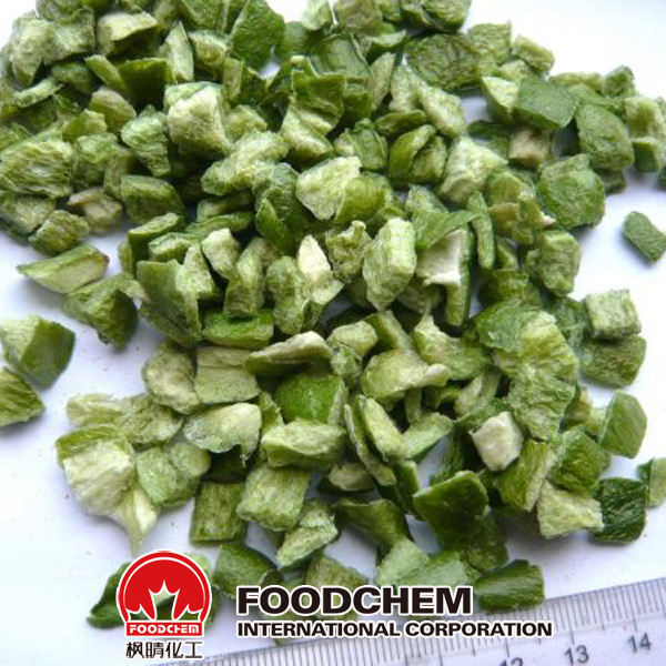 Dehydrated Green bell pepper