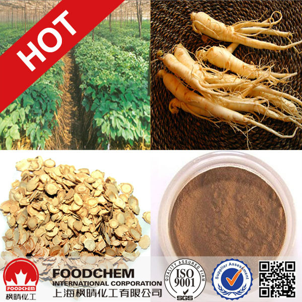 Panax Ginseng Extract(80% UV From Root)
